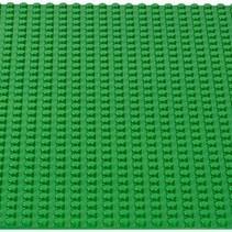 Große Grundplatte Bauplatte für Lego Bausteine Grün 50 x 50