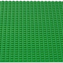 Large Baseplate Construction plate for Lego Building Blocks Green 50 x 50