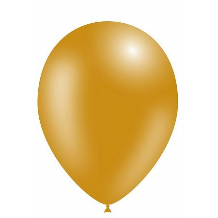 Metallic Party Balloons - Glanzende Feest Ballonnen 100 stuks Goud
