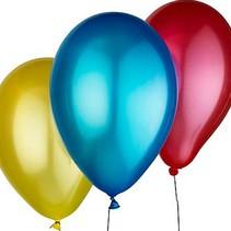 Metallic Party Balloons - Glanzende Feest Ballonnen 100 stuks