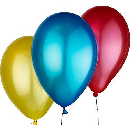 Geeek Party Balloons - Shiny Party Balloons 100 pieces