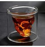 Geeek Verurteilter Designer Skull Skull Shot Glas Schnapsglas 2 Stück