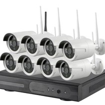 Wireless Security set with 8 Cameras Outdoor Outdoor 720p IP