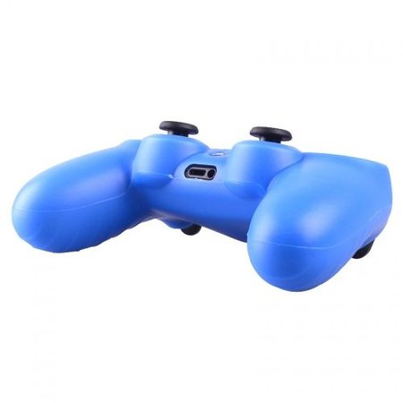 Geeek Silikonschutzhülle für PS4 Kontroller Cover Skin – Blau
