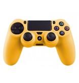 Geeek Silikonschutzhülle für PS4 Kontroller Cover Skin - Gelb