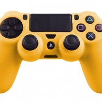 Silicone Protective Skin for PS4 Controller Cover Yellow
