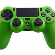 Silicone Protective Skin for PS4 Controller Cover Green
