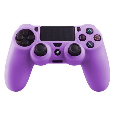 Geeek Silicone Protective Skin for PS4 Controller Cover Purple