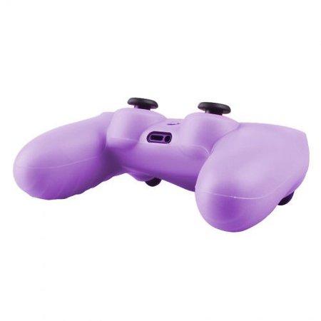 Geeek Silicone Beschermhoes voor PS4 Controller Cover Skin Paars