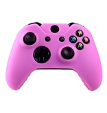 Geeek Silicone Cover  Skin für Xbox One (S) Controller - Rosa