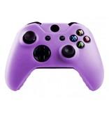 Geeek Silicone Cover  Skin für Xbox One (S) Controller - Lila