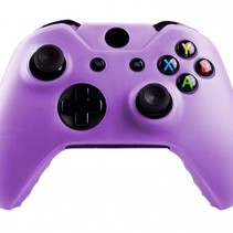 Silicone Beschermhoes Skin voor Xbox One (S) Controller - Paars