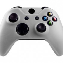 Silicone Beschermhoes Skin voor Xbox One (S) Controller - Transparant