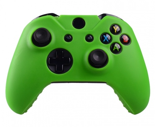 Xbox One Controller Silicone Beschermhoes Cover Skin Groen