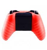 Geeek Silicone Beschermhoes Skin voor Xbox One (S) Controller - Rood