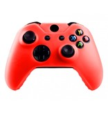Geeek  Silikonschutzhülle Cover Skin fur Xbox One (S) Controller – Rot