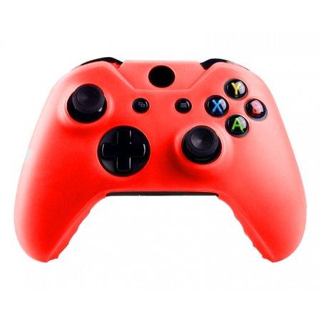 Geeek  Silikonschutzhülle Cover Skin fur Xbox One (S) Controller – Rot