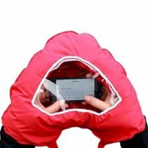 Smartphone Glove Double Heart Shape