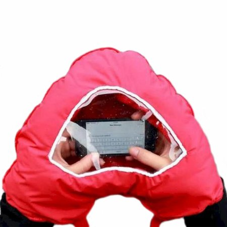Geeek Smartphone Glove Double Heart Shape