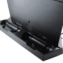 Verticale Dock met Koelventilator en Oplader voor PS4 gameconsole