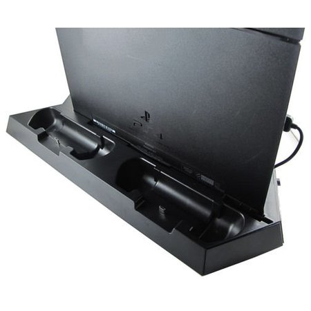 Geeek Vertical Dock Station with Cooling Fan and Charger for PS4 game console