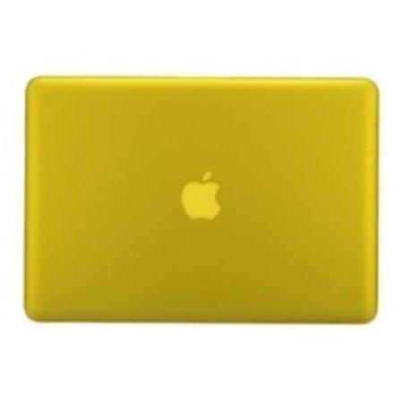 Geeek Hardshell Cover Mat Geel MacBook Pro 15 inch Retina