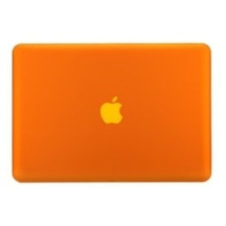 Geeek Hard Shell Back Cover Matte Orange MacBook Pro 15-inch Retina