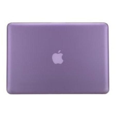 Geeek Hard Shell Back Cover Matte Purple MacBook Pro 15-inch Retina