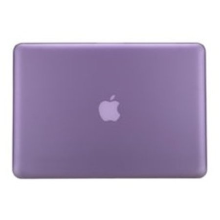 Geeek Hardshell Cover voor MacBook Pro 15 inch - Mat Paars