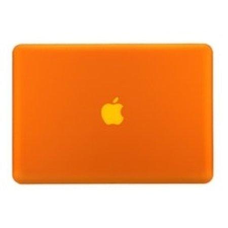 Geeek Hardshell Cover voor MacBook Pro - 15 inch - Mat Oranje