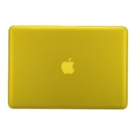 Geeek Hardshell Cover for MacBook Pro - 15-inch - Mat Yellow