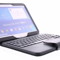 Bluetooth Keyboard / Case / Cover for Samsung Galaxy Tab 4 - 10.1 Inch - Black