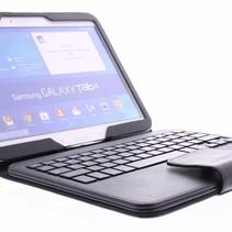 Bluetooth Tastatur / Case / Samsung für Galaxy Tab 4 - 10.1 Zoll – Schwarz