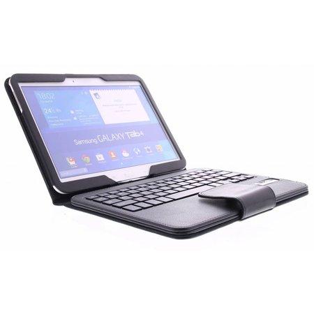 Geeek Bluetooth Toetsenbord / Case / Cover voor Samsung Galaxy Tab 4  -10.1 Inch - Zwart