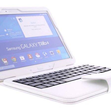 Geeek Bluetooth Toetsenbord Case / Cover voor Samsung Galaxy Tab S 10.5 - Wit