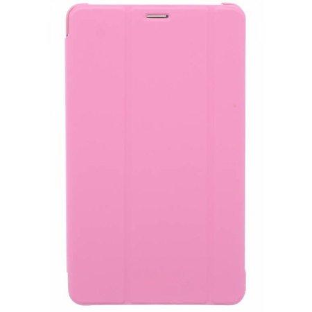 Geeek Book Cover voor Samsung Galaxy Tab 4 8.0 - Roze