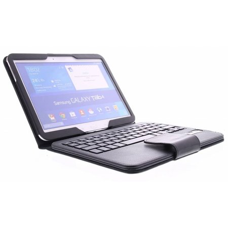 Geeek Bluetooth Tastatur Case / Cover für Samsung Galaxy Tab 4 7.0 – Schwarz