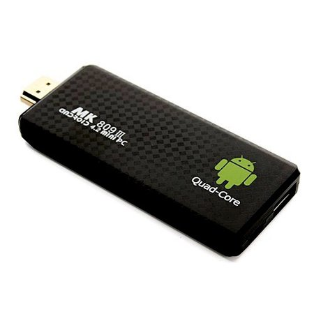 Geeek Android TV Stick - MK809 III - Quad Core - Android 4.2