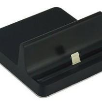 Docking Station Halter für iPad und iPhone Schwarz