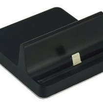 Docking Station Holder for iPad and iPhone Black