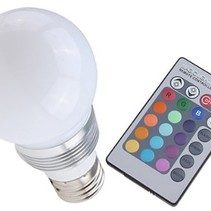 LED Light Bulb with Remote