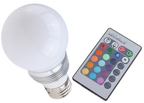 LED Lamp Bulb met afstandsbediening