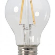 LED Gloeilamp Bulb E27 Grote Fitting Warm Wit 4 Watt 3 stuks