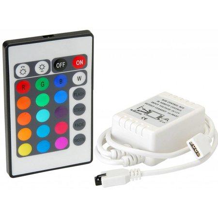 Geeek Led IR Controller Afstandsbediening RGB 24 key