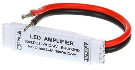 Led Versterker Repeater Amplifier RGB Kleur
