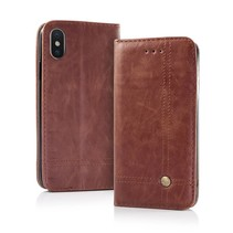 Smart Prestige Wallet Case for iPhone 7/8 Brown