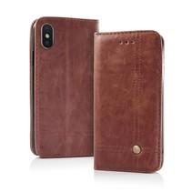Smart Prestige Wallet Case voor iPhone 7 / 8 Bruin