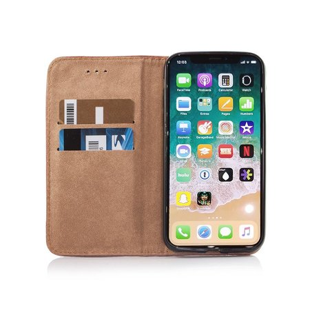 Geeek Smart Prestige Wallet Case voor iPhone 7 / 8 Bruin