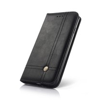 Smart Prestige Wallet Case voor iPhone X / XS Zwart