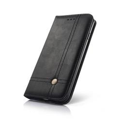 Geeek Smart Prestige Wallet Case voor iPhone X / XS Zwart